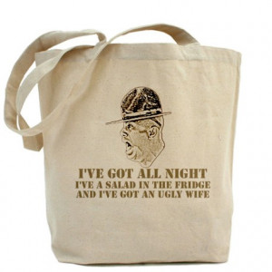 Army Gifts > Army Bags & Totes > Drill Sergeant sayings Tote Bag