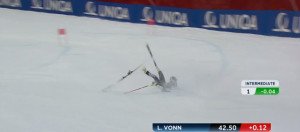 Lindsey Vonn France Out The