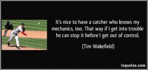 Tim Wakefield Quote