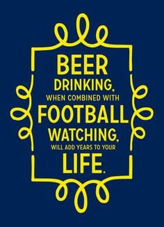Happy Birthday Beer Quotes Beer and football happy