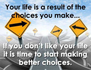We can ALL make the choice to reach our fat loss goals.