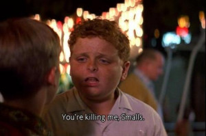 the Sandlot.... My first love!!!!!