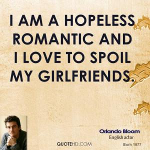 hopeless romantic and