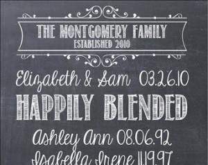 Popular items for blended family