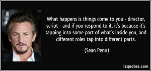 More Sean Penn Quotes