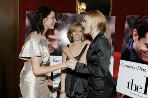 Cameron Diaz, Kate Winslet and Nancy Meyers at event of The Holiday ...