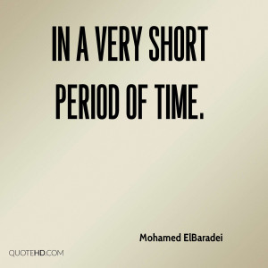 Mohamed ElBaradei Quotes
