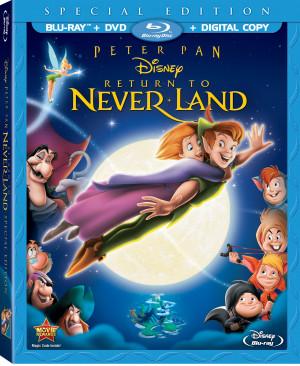Peter Pan Return To Never Land Blu-ray & DVD Combo
