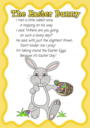 ... , These Famous Christian Easter Poems For Preschoolers Will Help You
