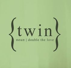 Twin Sister Quotes And Sayings Twins baby, twin baby nursery,