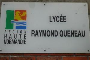 Intervention au lycée Raymond Queneau, Yvetot (76)