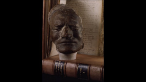Death Mask of Sir Isaac Newton Beside Original Hand-Written Copy of ...