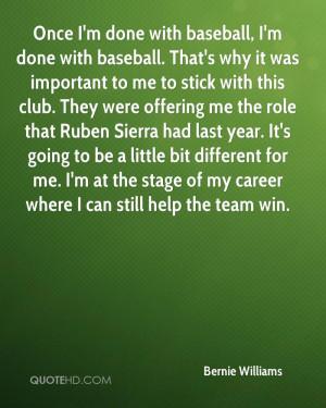 Bernie Williams Quotes