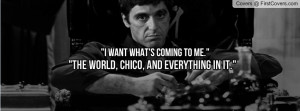 Tony Montana Profile Facebook Covers