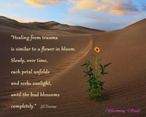 Healing Desert Flower