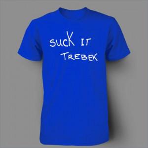 Suck It trebek snl will ferrell jeopardy funny by BLACKOUTTEES, $9.99