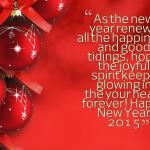 Happy new year 2015 desktop best quote wallpaper