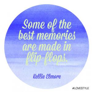 Manic Monday: Vacation Memories by Kellie Elmore