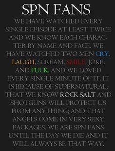 supernatural obsess spn fans supernatural fandoms things supernatural ...