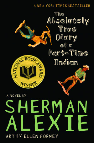 The Absolutely True Diary of a Part-Time Indian by Sherman Alexie, art ...
