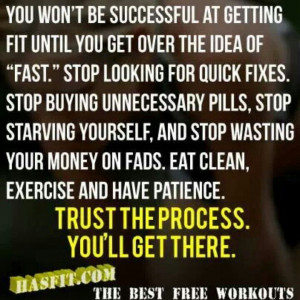 Eat clean and exercise
