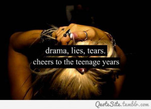 teenage years - Thoughtfull quotes Picture