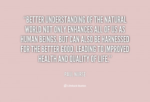 Paul Nurse Quotes