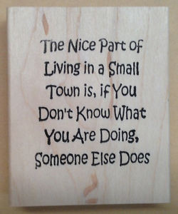 ... -Rubber-Stamps-Stamping-Humorous-Sayings-Friendship-Humor-Small-Town