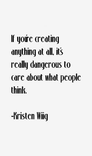 Kristen Wiig Quotes & Sayings