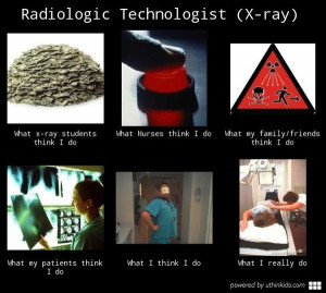 Radiologic technologist...some what relatable lol