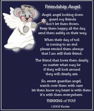 Back > Quotes For > Angel Sayings For Friends