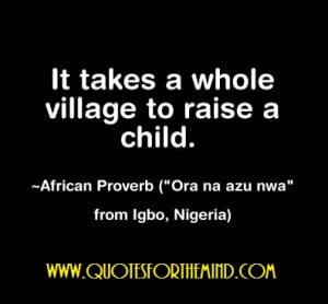 funny african proverb quotes