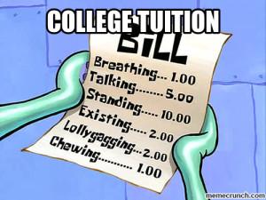 College Tuition Aug 22 12:35 UTC 2013