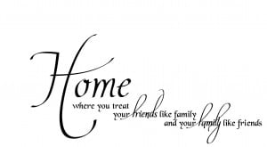 Friends Like Family Quotes