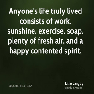 Lillie Langtry Work Quotes