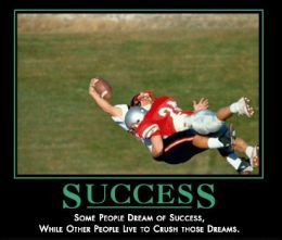 Success - some people dream of success while other people like to ...