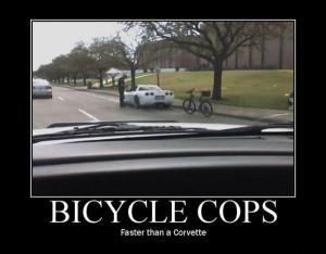 car-joke-funny-humor-bicycle-cops [ Bicycle Cops ]