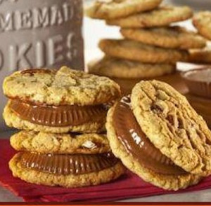 Reese's Peanut Butter Cup Sandwich Cookies…