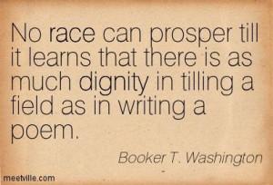 Booker T. Washington quote