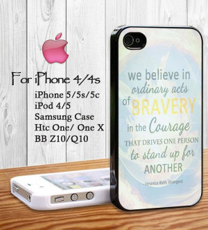 Divergent Quotes For iPhone 4/4s/5/5s/5c, iPod 4/5, Samsung S2/S3/S4 ...