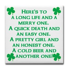Funny St Patricks Day Sayings Drink Coasters