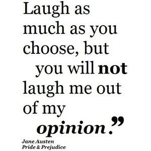 Jane Austen Pride and Prejudice Quote