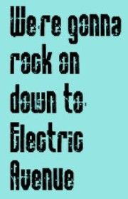 Eddy Grant - Electric Avenue - song lyrics, song quotes, music lyrics ...