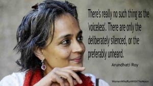 Feminism Arundhati Roy Quote