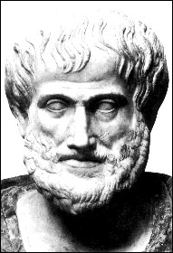 On the left is Aristotle and to the right is Epicurus.