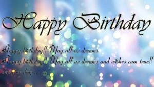 Dreams Happy Birthday Quotes