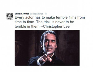 christopher lee quote
