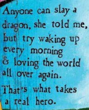 Anyone can slay a dragon
