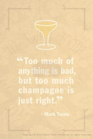 Twain Poster - Famous Quotes Series