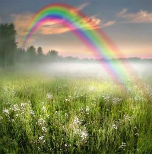 God-The creator God's Beautiful Rainbow